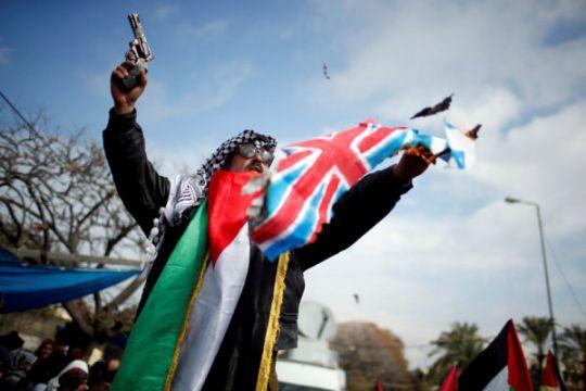 Satu kota Inggris akui, kibarkan bendera Palestina