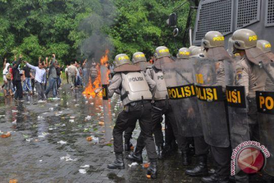 Simulasi Penanganan Kerusuhan Pilkada
