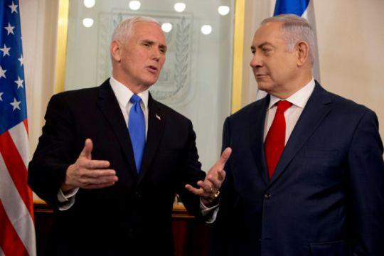 Mike Pence tiba di Israel