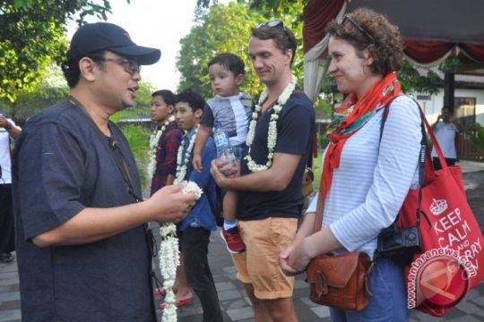 Wisatawan Pertama Borobudur 2018