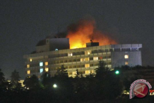 Hotel Intercontinental Kabul diserang, tamu disandera