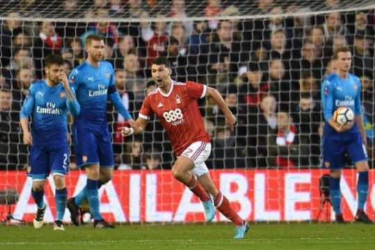 Arsenal angkat koper dari Piala FA, dihajar Nottingham 4-2