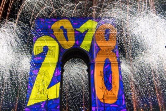 Tahun baru di Paris