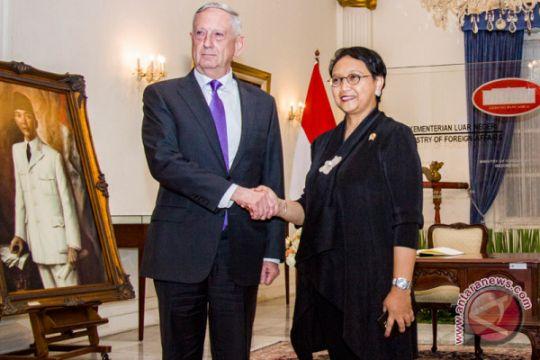 Menhan Indonesia-Amerika Serikat akan bicarakan masalah terorisme