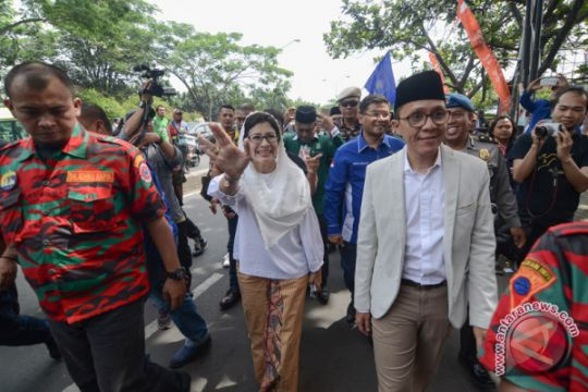 Nurul Arifin dapat nomor 1 di Pemilihan Wali Kota Bandung