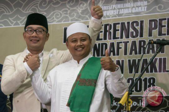 Laporan awal dana kampanye Ridwan Kamil-Uu Rp2,2 miliar