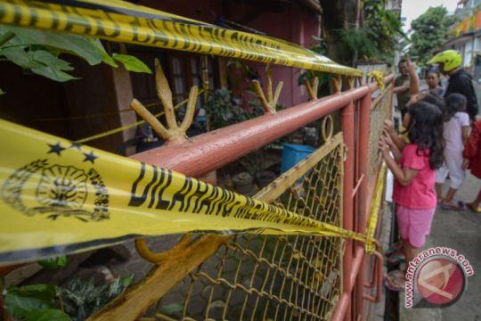 TKP Rumah Tengkorak Di Cimahi