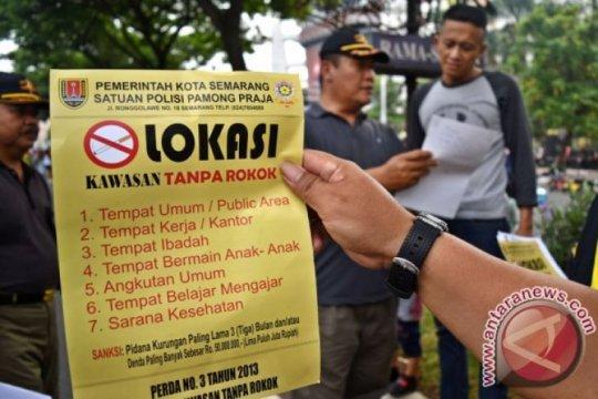 Survei tunjukkan mal di Jakarta belum bebas asap rokok