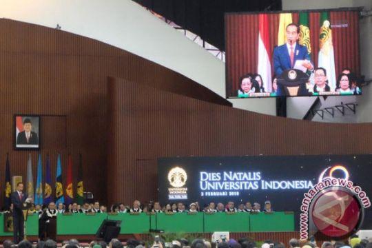 Presiden mengharapkan UI jadi contoh inovasi yang melahirkan SDM unggul