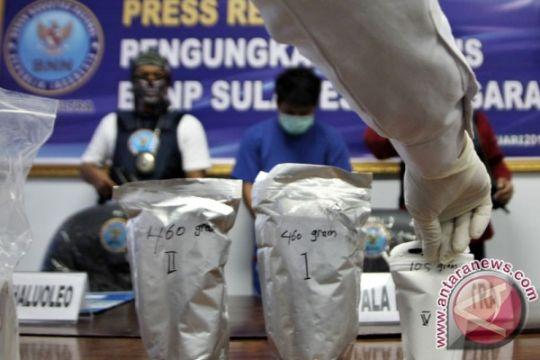 Polda Sulsel tahan bandar narkoba buronan di Jakarta