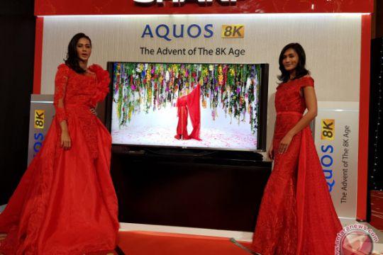 Sharp perkenalkan televisi LED 8K di Indonesia