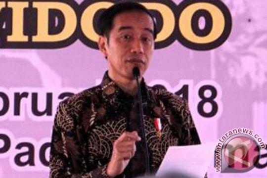 Presiden resmikan pembangunan tol Padang-Pekanbaru