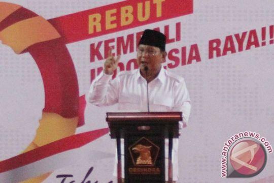 Ini instruksi Prabowo Subianto