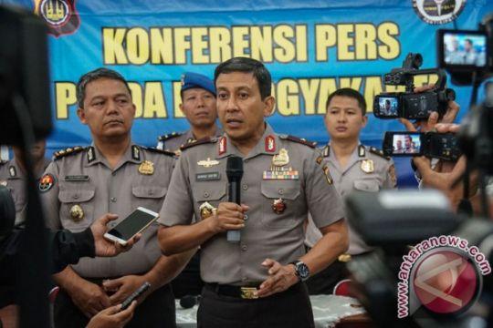 Polisi amankan sejumlah aktivis pelempar bom molotov ke pos polantas di Hari Buruh