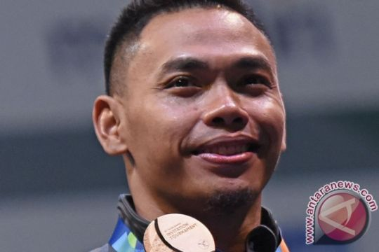 Persiapan Asian Games Eko Yuli 85 persen