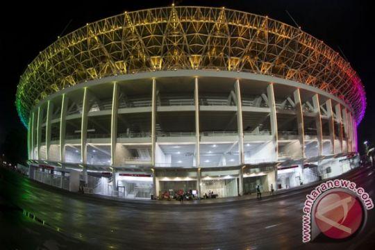 Rumput GBK dipindah demi pembukaan Asian Games 2018
