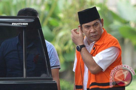 Bupati nonaktif Hulu Sungai Tengah resmi tersangka