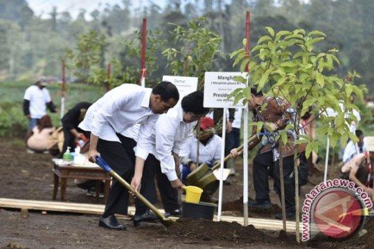 Satu juta pohon ditanam sepanjang DAS Citarum