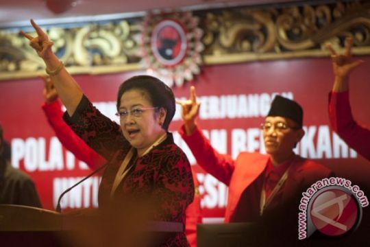 Megawati instruksikan kadernya menangkan Jokowi pada pilpres
