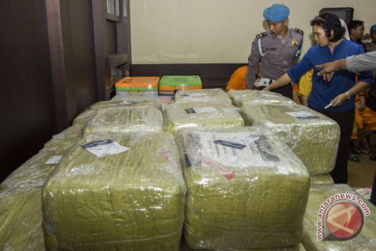 Rilis kasus narkotika jaringan China