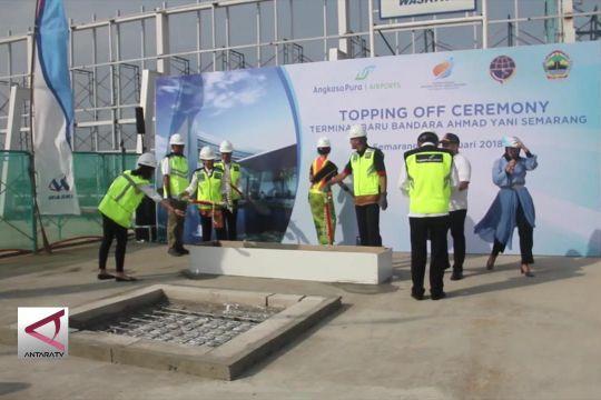 Diluncurkan topping off Bandara Ahmad Yani baru