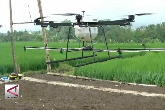 Kodim Temanggung ciptakan drone penyemprot tanaman