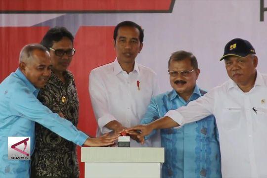 Presiden resmikan Ruas I Tol Padang-Pekanbaru