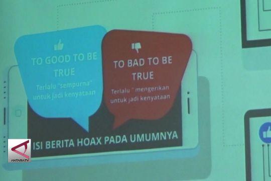 Pelatihan jurnalistik untuk cegah penyebaran hoaks