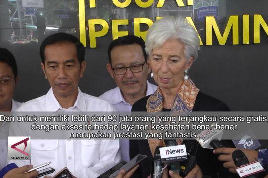 Delegasi IMF apresiasi kinerja rumah sakit