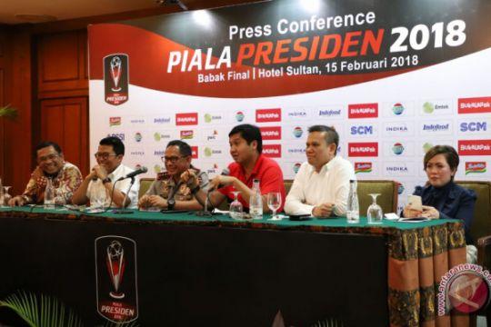 Polri siap amankan final Piala Presiden 2018