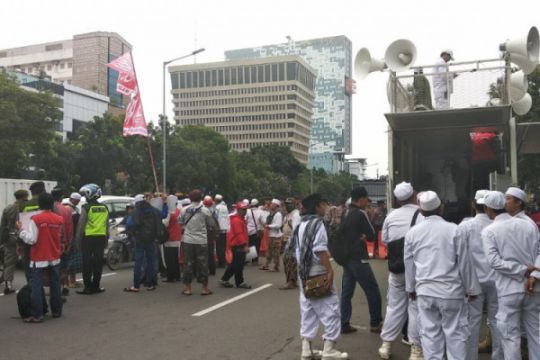 Sidang PK Ahok, lalu lintas tersendat