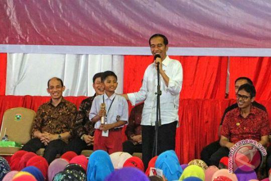 Presiden Jokowi hadiri puncak peringatan HPN 2018