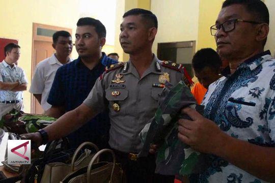 Polisi tangkap  TNI gadungan