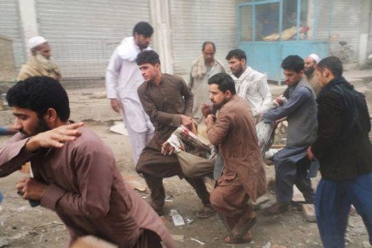 Ratusan orang terluka dalam serangkaian ledakan di Afghanistan timur