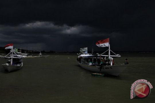 BMKG: waspadai gelombang tinggi di Laut Banda