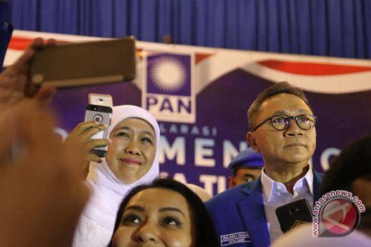 Ketum PAN Zulkifli Hazan hadiri deklarasi pemenangan di Jatim