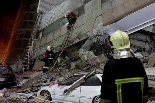 Korban meninggal gempa Taiwan berjumlah 4, puluhan orang hilang