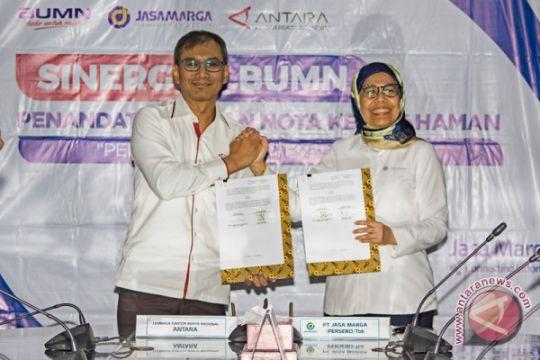 Foto Kemarin: Kerjasama LKBN Antara dengan Jasa Marga