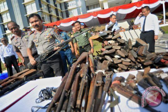 Pemusnahan Senjata Api Ilegal
