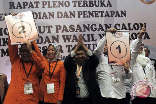 Penetapan Nomor Urut Paslon Wali Kota Makassar