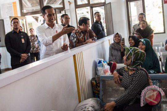 Presiden tinjau pelayanan BPJS-KIS di RS Hasan Sadikin Bandung