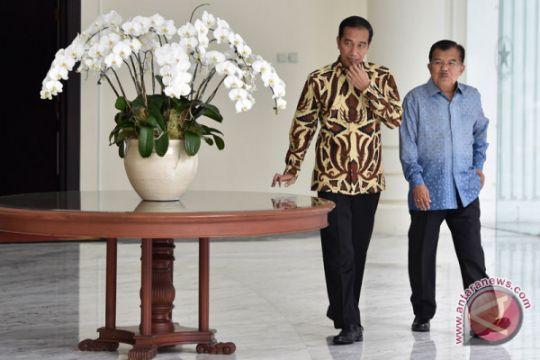 Presiden Jokowi buka bersama dengan Keluarga Besar TNI-Polri