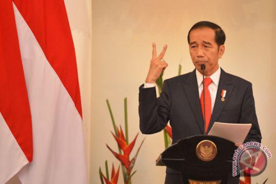 Jokowi berterima kasih atas pencapresannya oleh PDIP