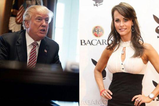 Mantan model Playboy menggugat untuk bicara perselingkuhannya dengan Donald Trump