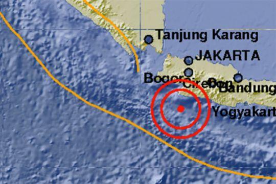 Gempa 5,1 skala Richter di dekat Sukabumi