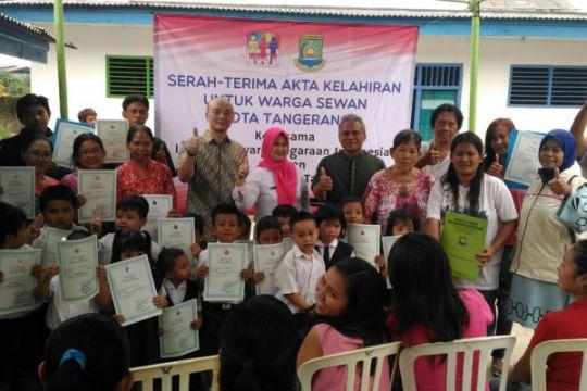 Warga tak mampu kota Tangerang dibantu peroleh akta lahir