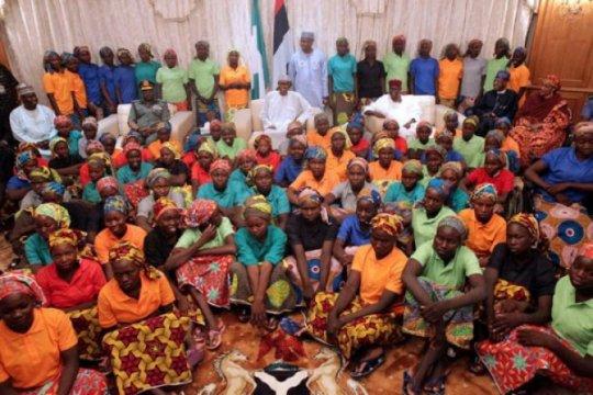 Puluhan pelajar Nigeria dibebaskan usai diculik kelompok bersenjata