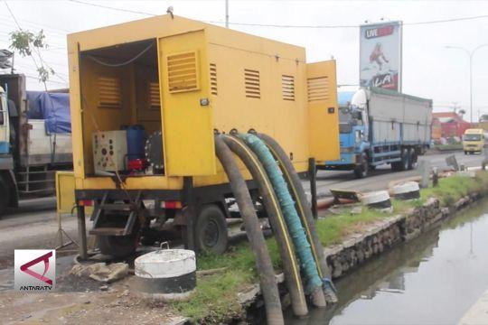 17 Pompa air untuk sedot genangan di Pantura Semarang