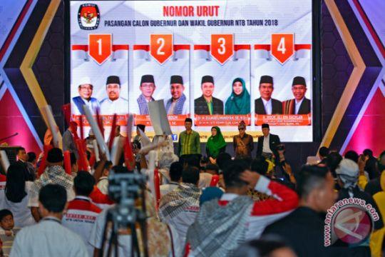 KPU ajak cagub NTB adu gagasan-program saat kampanye
