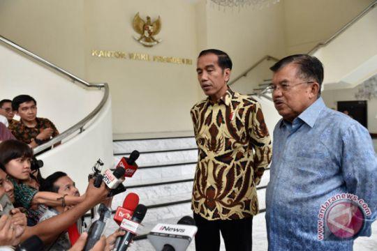 Biar yang muda, kata JK soal cawapres Jokowi di Pilpres 2019